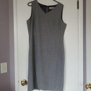 Lined Sheath Dress Kasper Sleek for Work or Play